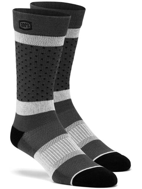 100% Opposition Socks Unisex, grey